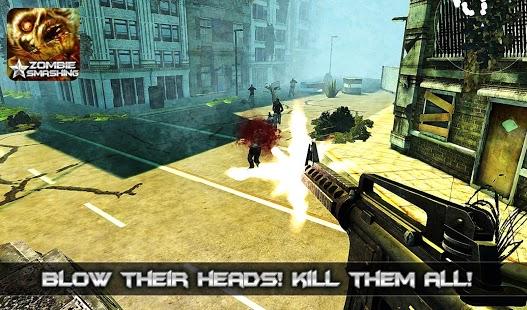 Zombie Smashing-Zombie Game