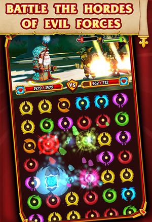Kingdom Come - Puzzle Quest