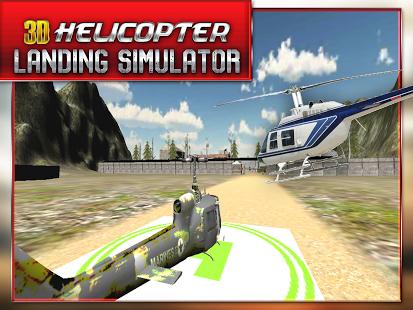 Helicopter Landing Simulator