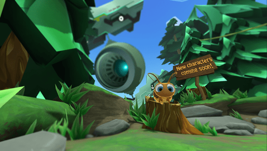Lamper VR: First Flight