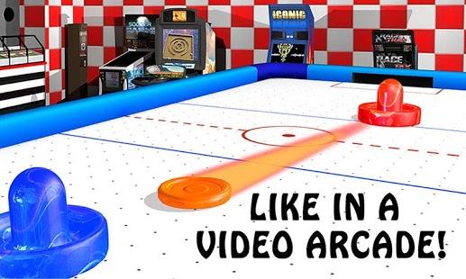 Air Hockey - Ice to Glow Age