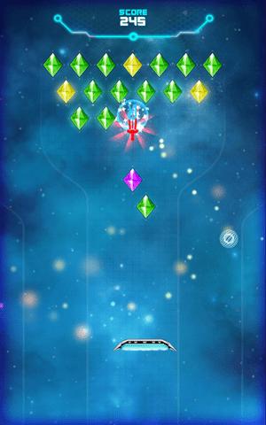 Arkanoid Crystal Space