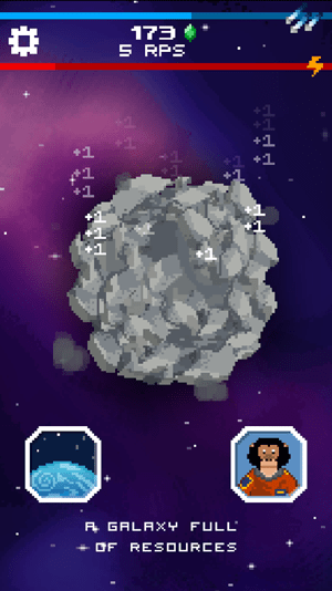 Tap Galaxy - Deep Space Mine