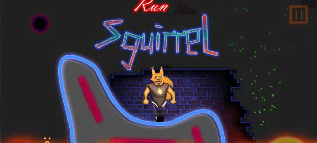 Neon Squirrel 3D