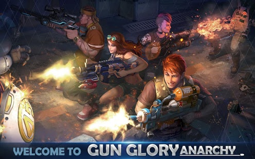 Gun Glory: Anarchy (Real Time)