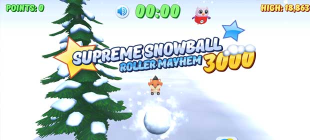 Supreme Snowball Roller Mayhem