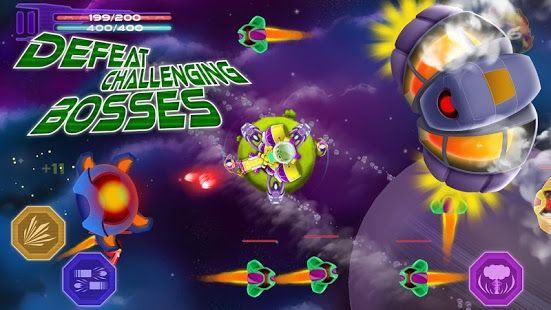 Space Defense - Shooting Game