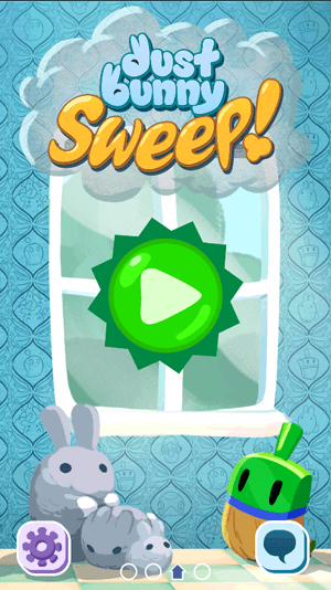 Dust Bunny Sweep!