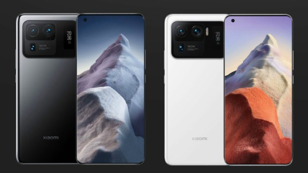 Xiaomi Mi 11 Ultra black and white 1200x675