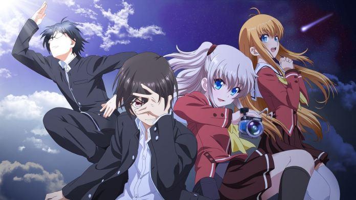 Resultado de imagem para charlotte anime