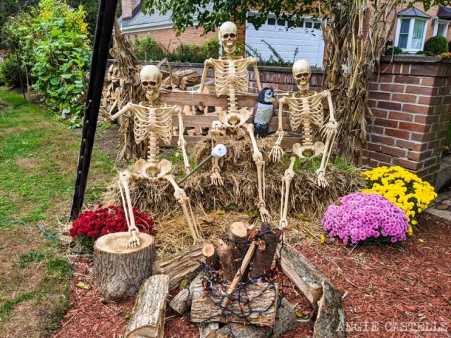 Decoraciones de Halloween en Sleepy Hollow