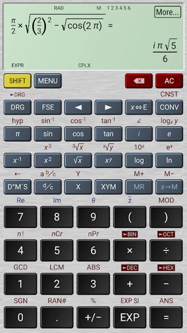 Hyper Calc Pro Screen 3