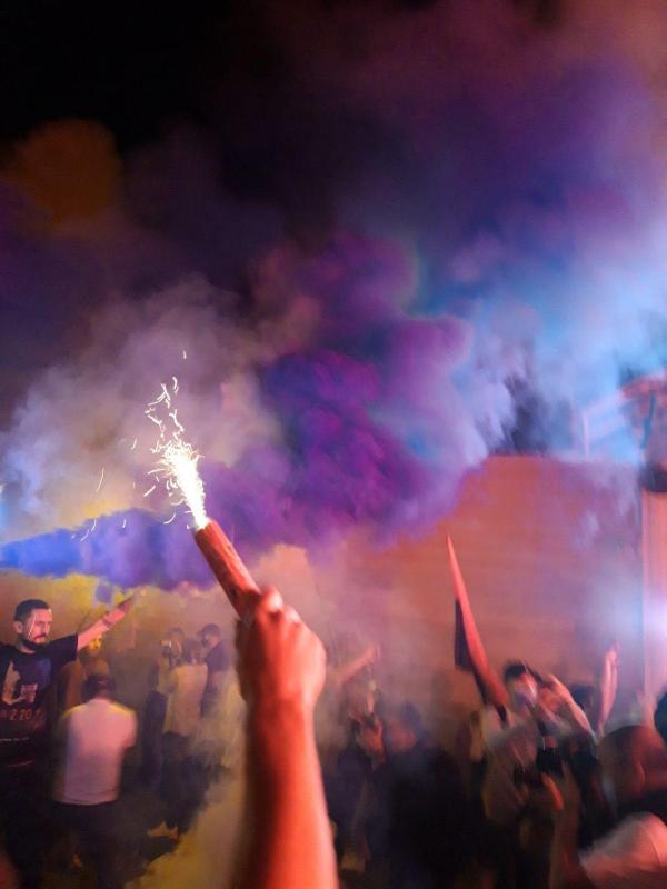 Акция протеста под резиденцией Зеленского 10 сентября ...