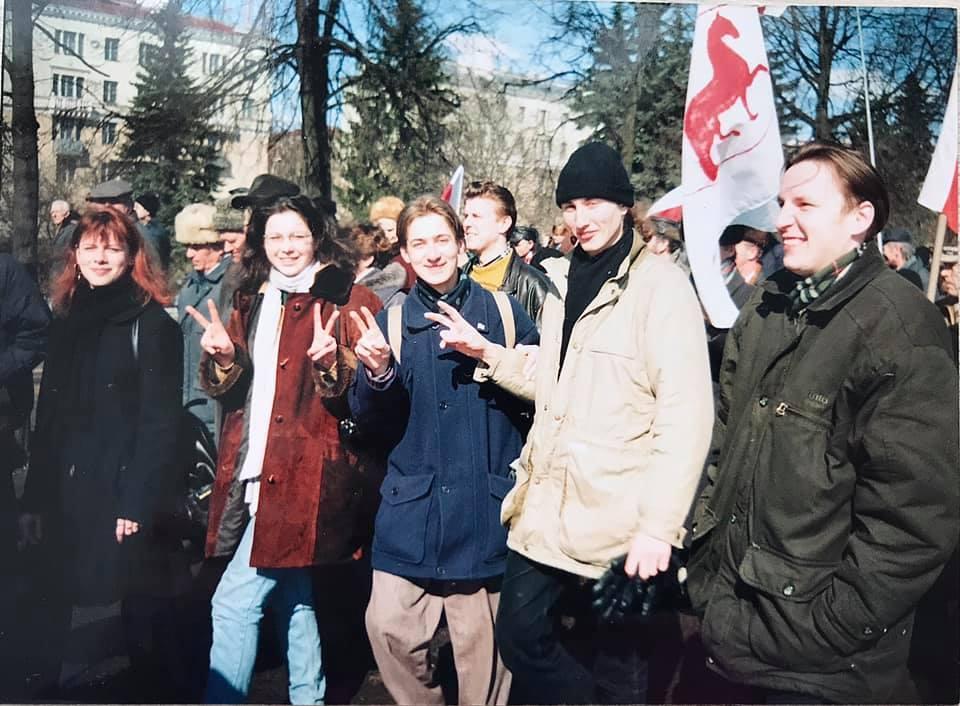 Уже тогда выступала против Лукашенко: появились фото Колесниковой 22-летней давности, АБЗАЦ