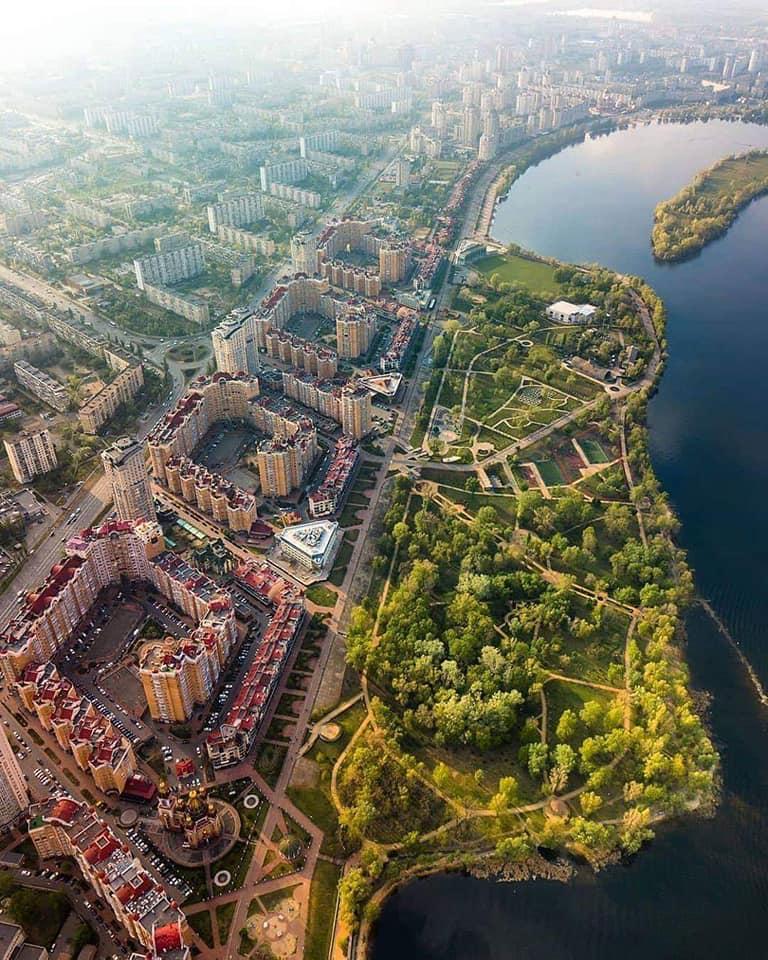 Як змінився Київ - архівні фото - забудова Оболоні - Апостроф