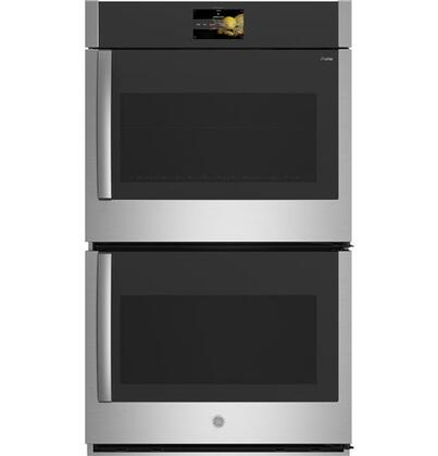 ge profile ptd700rsnss 30 inch 10 cu ft total capacity electric double wall oven