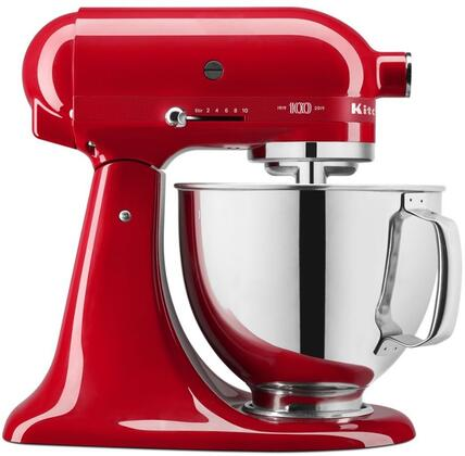 KSM180QHSD Tilt-Head Stand Mixer with 5 Quart Bowl Size in Passion Red