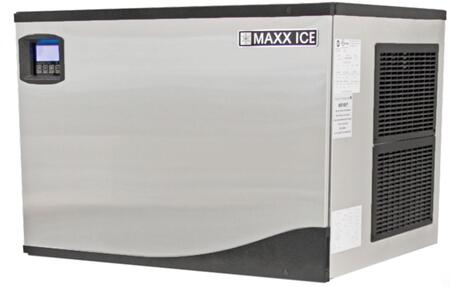 This Modular Ice Maker by Maxx Ice can produce up to 1005 pounds of ice per day. The unit features a durable stainless steel exterior. hinged front panel and automatic cleaning cycle.