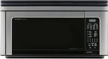 sharp r1881lsy 30 inch over the range 1 1 cu ft capacity microwave oven