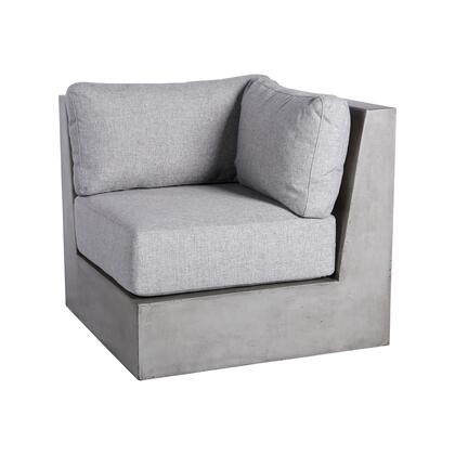 The Lannister Outdoor Sofa is anything but Stark Inspired by avant-garde Futurist urbansphere each lightweight concrete module is beautifully polished yet impervious to the most brutal natural conditions Base units and stylish Grey weatherproof cushi...