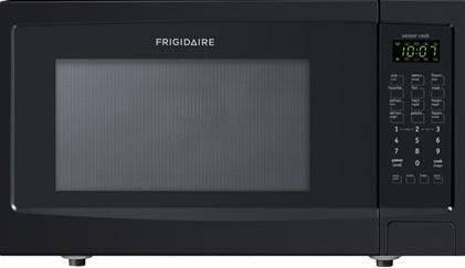 frigidaire ffmo1611lb counter top 1 6 cu ft capacity microwave oven