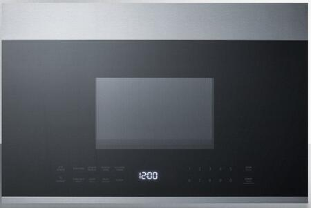 summit mhotr24ss 24 inch over the range 1 34 cu ft capacity microwave oven