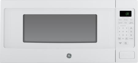 ge profile pem31dfww 24 inch 1 1 cu ft capacity countertop microwave
