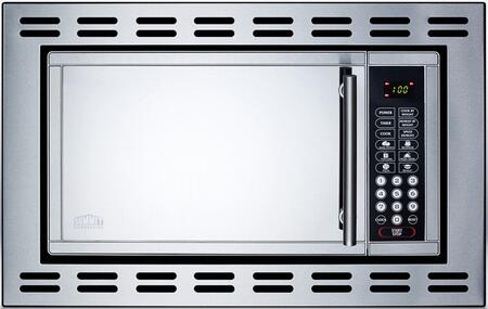 summit otr24 24 inch built in 0 9 cu ft capacity microwave oven