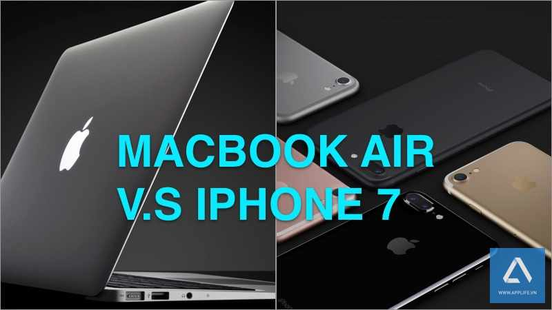 So điểm số: CPU iPhone 7 vượt cả MacBook Air 2015