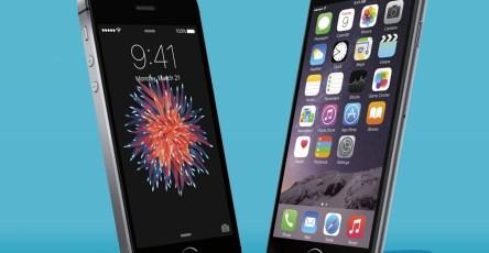 Apple iPhone SE và iPhone 6