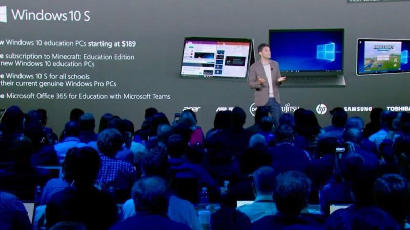 Buổi ra mắt Windows 10 S và Microsoft Surface Laptop