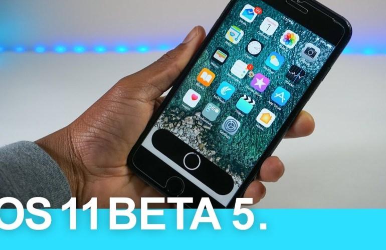 iOS 11 beta 5 đã xuất hiện và đây là những gì bạn cần biết
