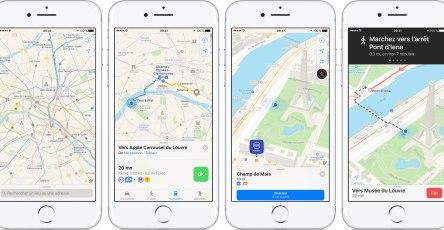 Apple mang bản đồ giao thông đến Việt Nam