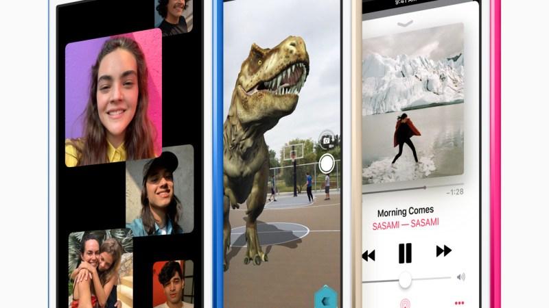 Apple cập nhật iPod Touch 2019 với chip A10 Fusion, không có thay đổi lớn nào khác.