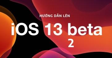 Hướng dẫn nâng cấp iOS 13, iPadOS beta 2 không cần máy tính