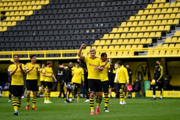 The return of the German league .. What changed football after Corona in the Dortmund and Schalke match?