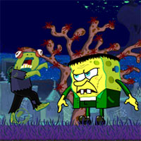 Spongebob Questpants 3   Play Game Online spongebob halloween horror 2 game