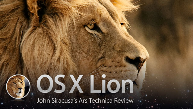OS X 10.7 Lion Is The First Great PC Operating System Of The Post-PC Age [Review]