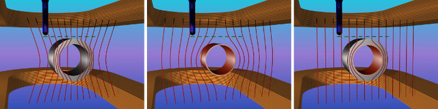 A cloaking device from off-the-shelf superconductors and magnetic tape