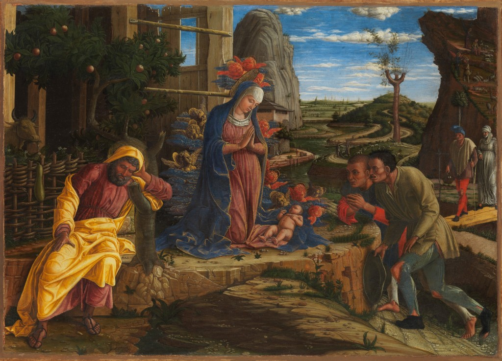 Andrea Mantegna Adoration Of The Shepherds