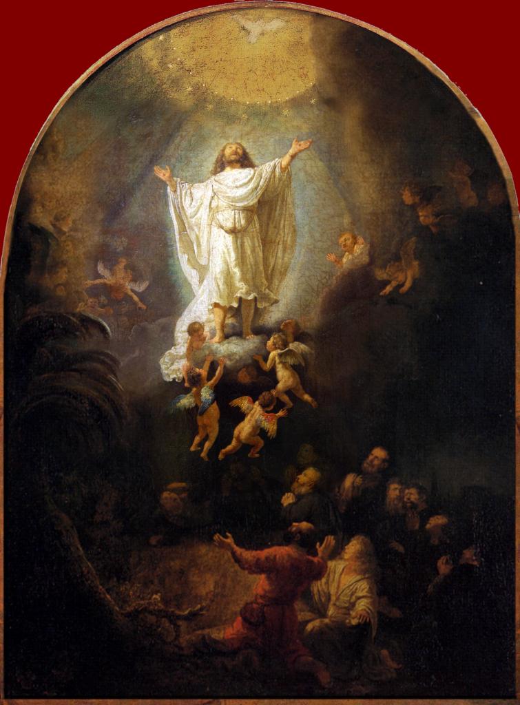 Rembrandt Ascension