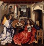 Merode altarpiece - Annunciation