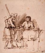 Esau Sells his Birhtright to Jacob