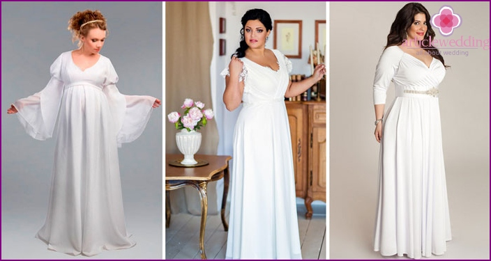 Wedding Dress Greek Style For The Full