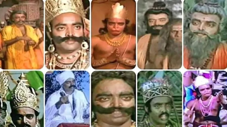 Aslam Khan dominated social media due to his many characters in Ramayana