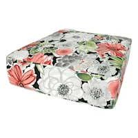 floral cushions at home