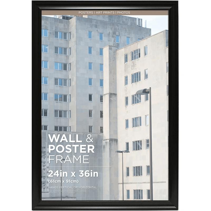 24x36 sophia black poster frame at home