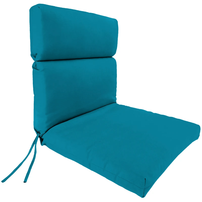 turquoise canvas outdoor hinged chair