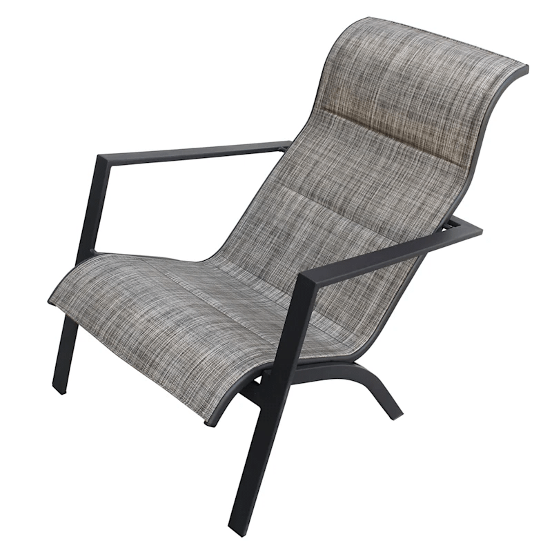 knox outdoor padded sling chair at home