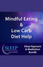 Mindful Eating & Low Carb Diet Help - Sleep Learning System Bundle with Rachael Meddows (Sleep Hypnosis & Meditation) - Audiobook Download